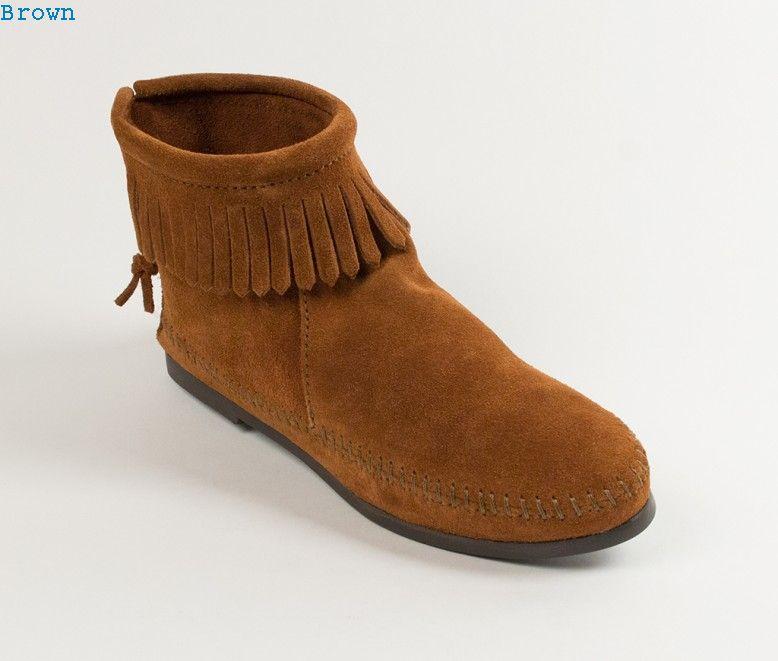 Back Zipper Boot-Hardsole